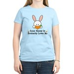 Some Bunny In Kentucky Loves Me Women's Light T-Sh