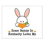 Some Bunny In Kentucky Loves Me Small Poster