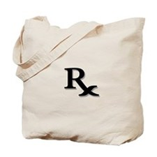 Pharmacy Rx Symbol Tote Bag