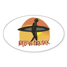 Montauk Surf Decal