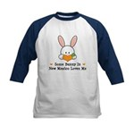 Some Bunny In New Mexico Kids Baseball Jersey