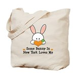 Some Bunny In New York Loves Me Tote Bag