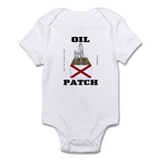 Alabama Oil Patch Infant Bodysuit,Oil,Gas