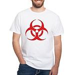 Biohazzard White T-Shirt