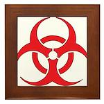 Biohazzard Framed Tile