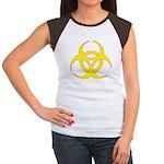 Biohazzard Women's Cap Sleeve T-Shirt
