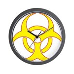 Biohazzard Wall Clock