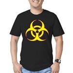 Biohazzard Men's Fitted T-Shirt (dark)