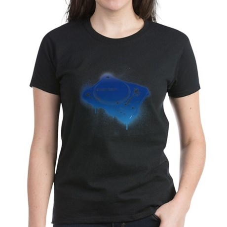 Stanton Str8-150 Graffiti Women's Dark T-Shirt