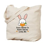Some Bunny In North Dakota Tote Bag