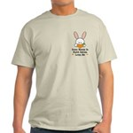 Some Bunny In North Dakota Light T-Shirt
