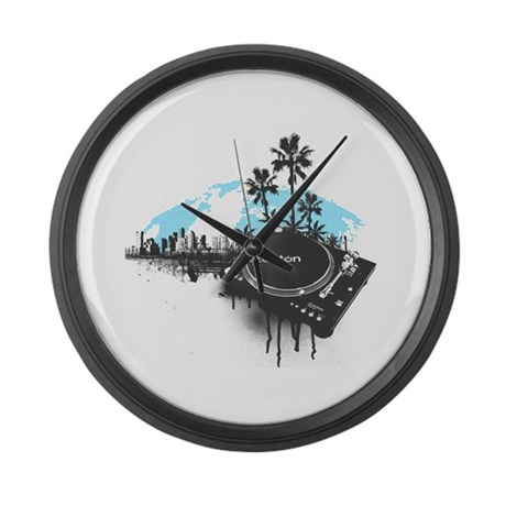 Stanton Miami Large Wall Clock