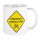Sinkhole Inspector Small Mug