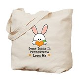 Some Bunny In Pennsylvania Tote Bag