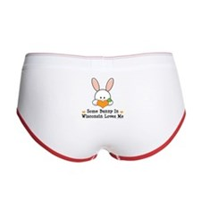 Some Bunny In Wisconsin Women's Boy Brief