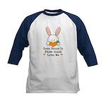 Some Bunny In Rhode Island Kids Baseball Jersey