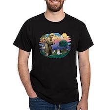 St. Francis #2 / Papillon (sw) T-Shirt