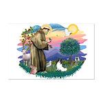 St. Francis #2 / Papillon Mini Poster Print