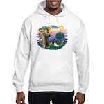 St. Francis #2 / Papillon Hooded Sweatshirt