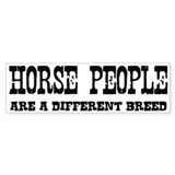 Horse People Breed Bumper Bumper Sticker