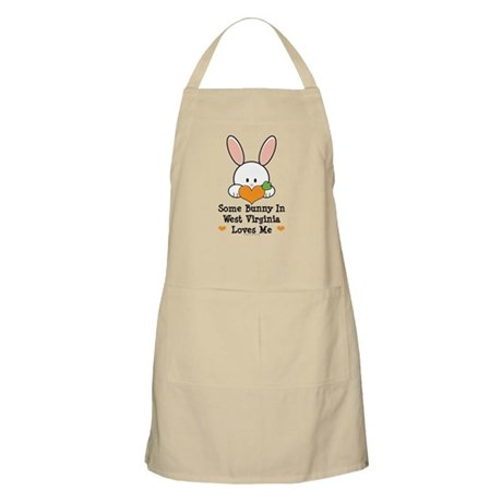 Some Bunny In West Virginia Apron
