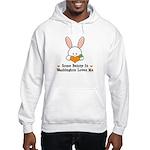 Some Bunny In Washington Hooded Sweatshirt