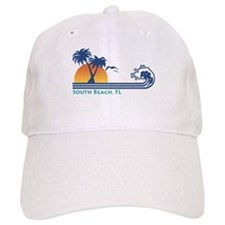 South Beach Fl Baseball Cap