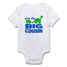 I'm The BIG Cousin! Dinosaur Infant Bodysuit