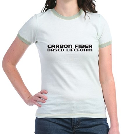 carbon fiber based lifeform Jr. Ringer T-Shirt