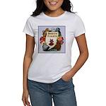Domestic Flight Flowers Women's T-Shirt
