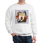 Domestic Flight Flowers Sweatshirt