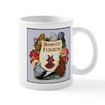 Domestic Flight Flowers Mug