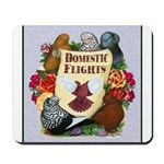 Domestic Flight Flowers Mousepad