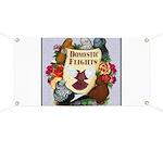 Domestic Flight Flowers Banner