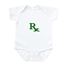 Pharmacy Rx Symbol Infant Bodysuit
