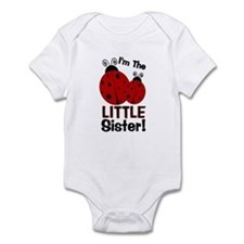 I'm The LITTLE Sister! Ladybu Infant Bodysuit