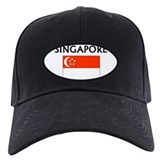 Cute Singapore flag Baseball Hat