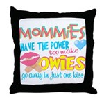 Just One Kiss Throw Pillow