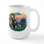 St Francis #2/ Spinone Large Mug