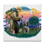 St Francis #2/ Spinone Tile Coaster