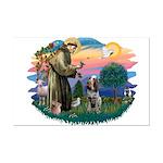 St Francis #2/ Spinone Mini Poster Print