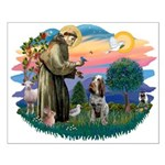 St Francis #2/ Spinone Small Poster