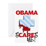 ObamaScare Greeting Cards (Pk of 10)