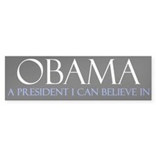 Believe in Obama Bumper Sticker