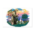 St. Francis #2 / Italian Greyhound Mini Poster Pri