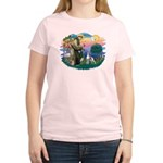 St. Francis #2 / Italian Greyhound Women's Light T
