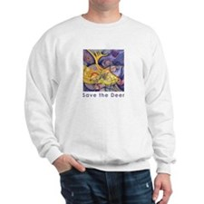 Save the Deer Sweatshirt
