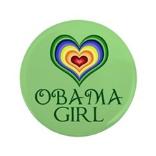 "Obama Girl 3.5"" Button"