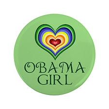 """Obama Girl 3.5"""" Button"""