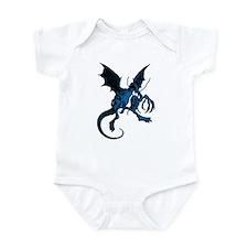 Jabberwocky Blue Fill Infant Bodysuit